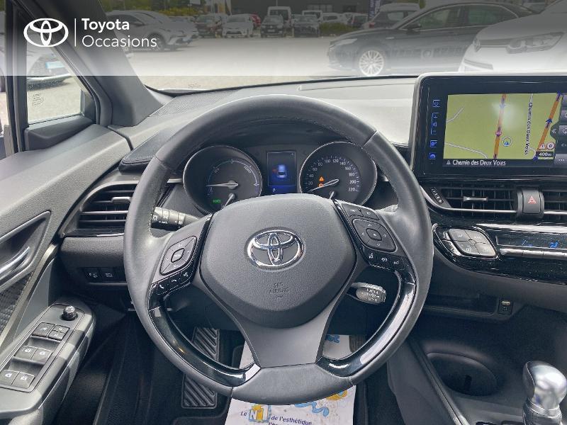 Toyota C-HR 122h Dynamic 2WD E-CVT Gris occasion à Albi - photo n°9