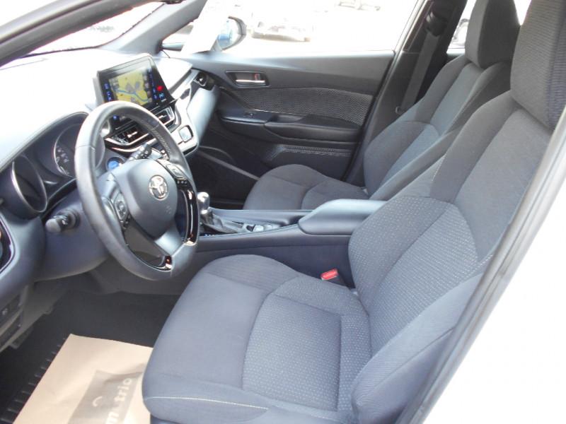 Toyota C-HR 122h Dynamic Blanc occasion à Bessières - photo n°2