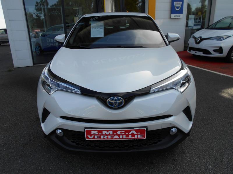 Toyota C-HR 122h Dynamic Blanc occasion à Bessières - photo n°5