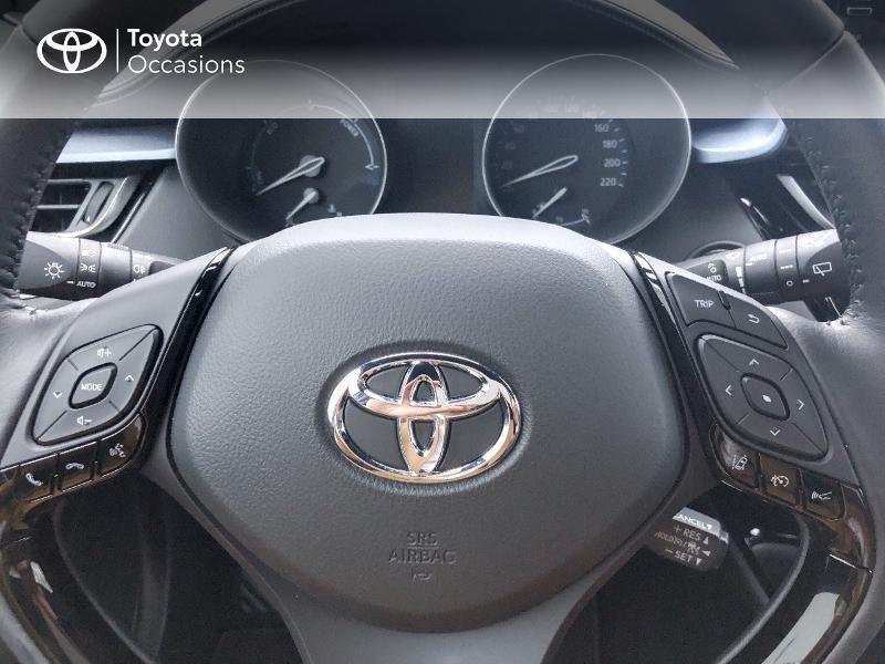 Toyota C-HR 122h Edition 2WD E-CVT MY20 Gris occasion à NOYAL PONTIVY - photo n°9