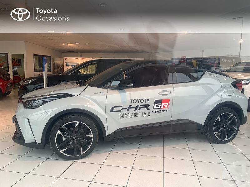 Toyota C-HR 184h GR-Sport 2WD E-CVT MY20 Gris occasion à CASTRES - photo n°20
