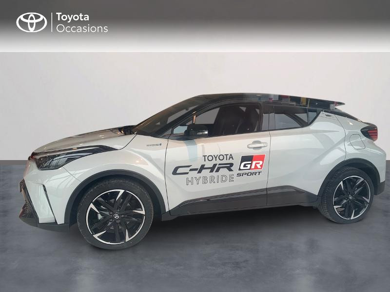 Toyota C-HR 184h GR-Sport 2WD E-CVT MY20 Gris occasion à CASTRES - photo n°3