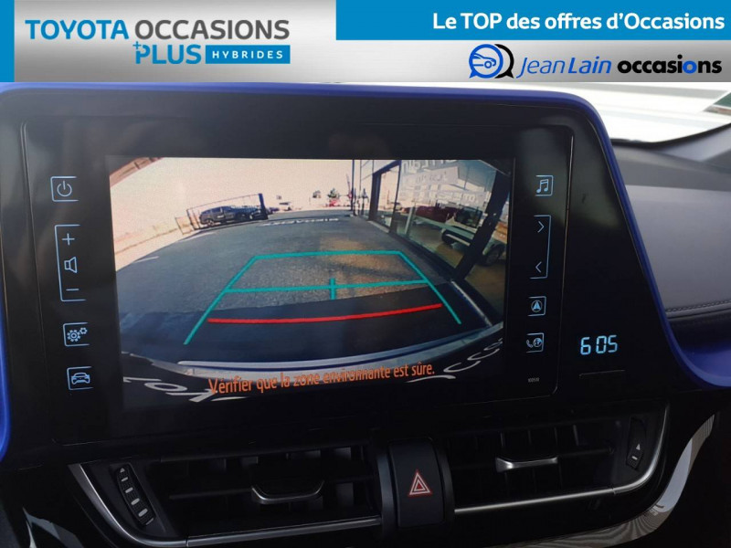 Toyota C-HR C-HR Hybride 122h Graphic 5p Gris occasion à Valence - photo n°16