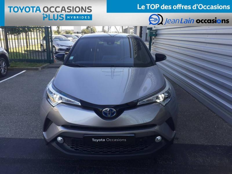 Toyota C-HR C-HR Hybride 122h Graphic 5p Gris occasion à Valence - photo n°2