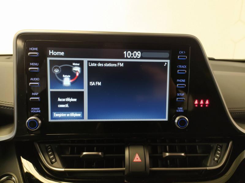 Toyota C-HR C-HR Hybride 2.0L GR-Sport 5p Gris occasion à Saint-Laurent-des-Vignes - photo n°7
