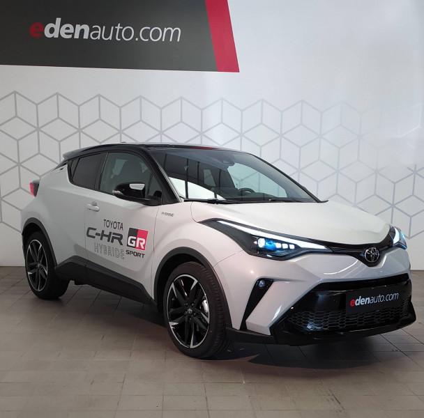 Toyota C-HR C-HR Hybride 2.0L GR-Sport 5p Gris occasion à Saint-Laurent-des-Vignes
