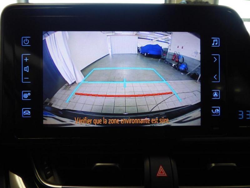 Toyota C-HR c-hr pro 116ch turbo 2wd dynamic Noir occasion à Saint-Berthevin - photo n°7