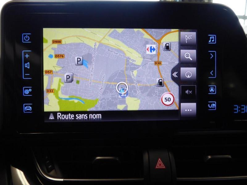 Toyota C-HR c-hr pro 116ch turbo 2wd dynamic Noir occasion à Saint-Berthevin - photo n°6