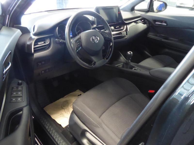 Toyota C-HR c-hr pro 116ch turbo 2wd dynamic Noir occasion à Saint-Berthevin - photo n°4