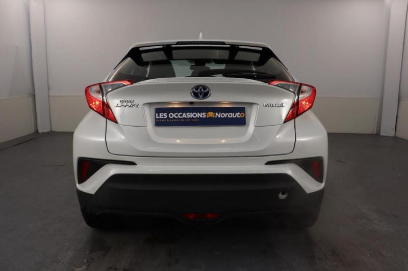 Toyota C-HR HYBRIDE 122h Dynamic Blanc occasion à Aubière - photo n°4