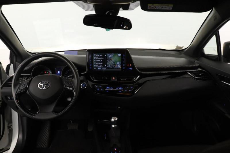 Toyota C-HR HYBRIDE 122h Dynamic Blanc occasion à Aubière - photo n°5