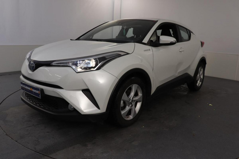 Toyota C-HR HYBRIDE 122h Dynamic Blanc occasion à Aubière