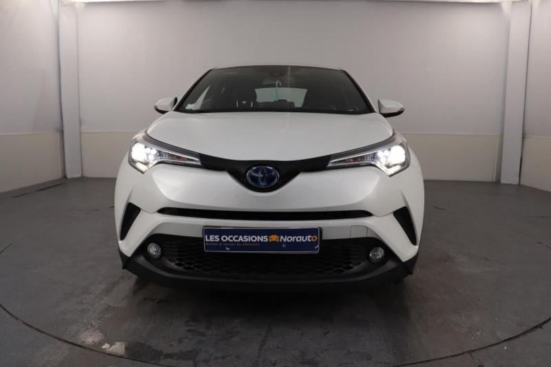 Toyota C-HR HYBRIDE 122h Dynamic Blanc occasion à Aubière - photo n°2