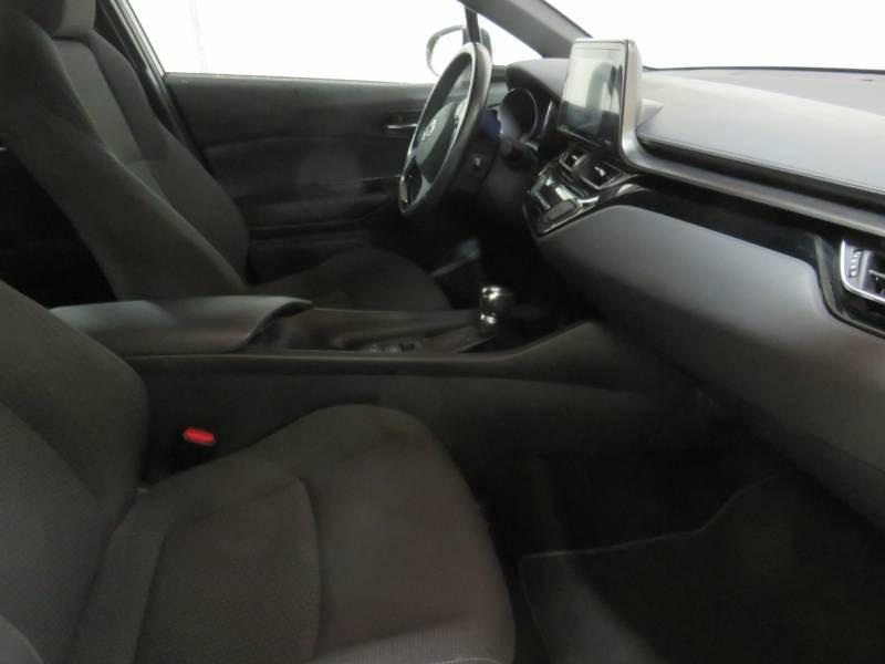Toyota C-HR HYBRIDE 122h Dynamic Blanc occasion à BAYONNE - photo n°3
