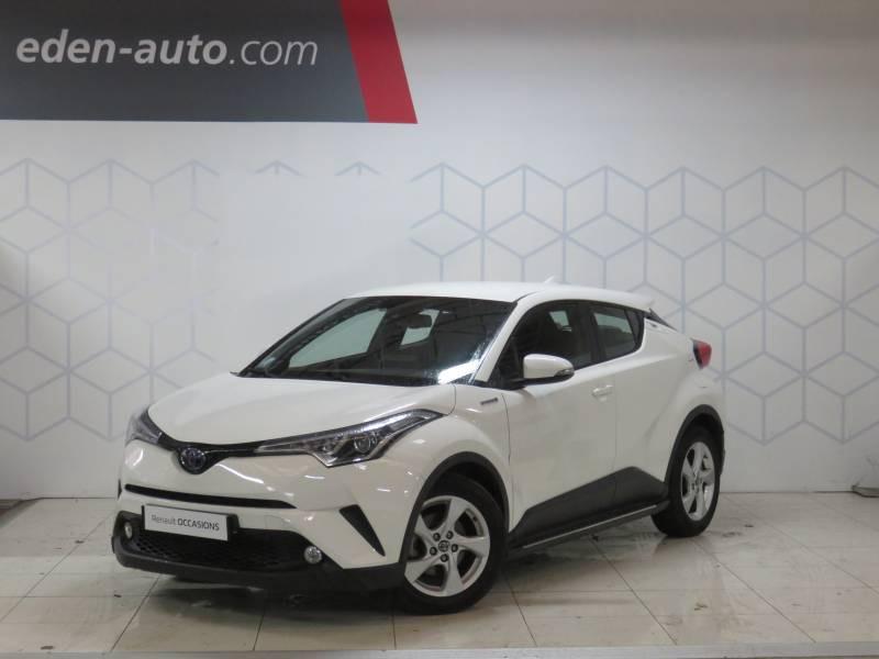Toyota C-HR HYBRIDE 122h Dynamic Blanc occasion à BAYONNE
