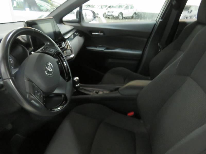 Toyota C-HR HYBRIDE 122h Dynamic Blanc occasion à BAYONNE - photo n°5