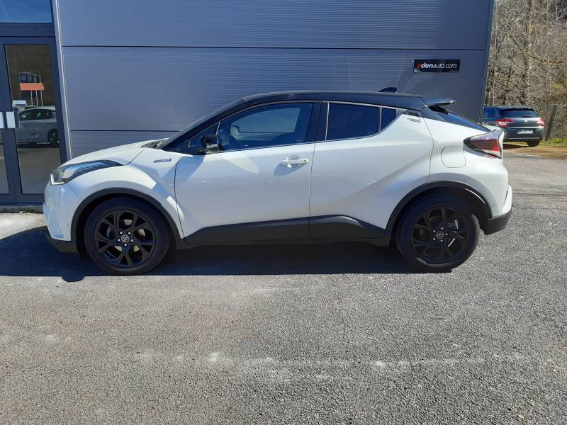 Toyota C-HR HYBRIDE 122h Graphic Blanc occasion à Tulle - photo n°2