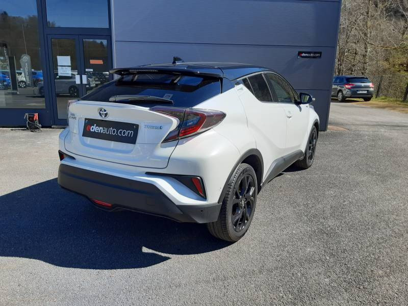 Toyota C-HR HYBRIDE 122h Graphic Blanc occasion à Tulle - photo n°3