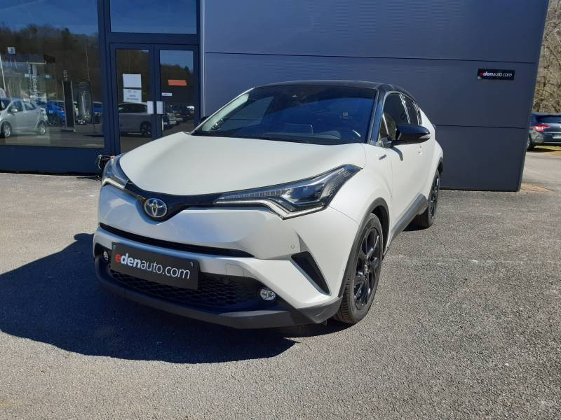 Toyota C-HR HYBRIDE 122h Graphic Blanc occasion à Tulle