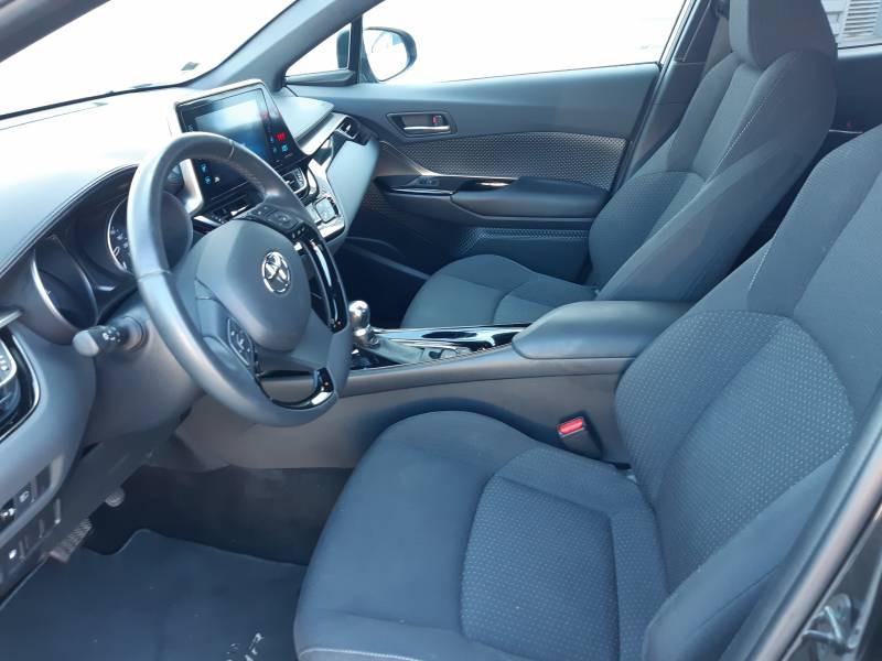 Toyota C-HR HYBRIDE RC18 122h Edition Noir occasion à Brive-la-Gaillarde - photo n°7