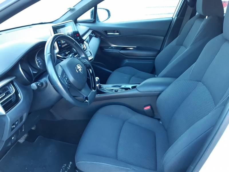 Toyota C-HR HYBRIDE RC18 122h Edition Blanc occasion à Brive-la-Gaillarde - photo n°7