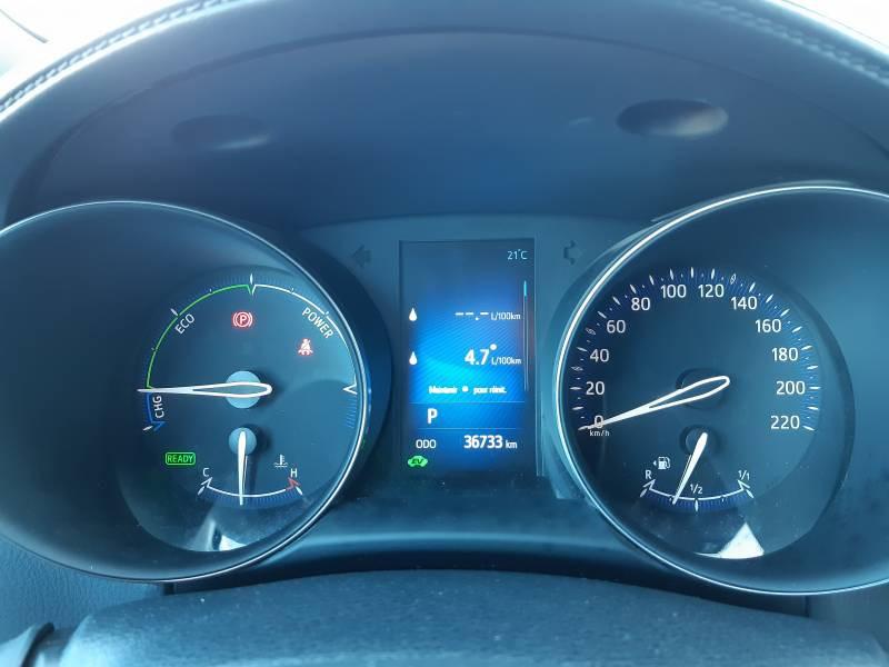 Toyota C-HR HYBRIDE RC18 122h Edition Noir occasion à Brive-la-Gaillarde - photo n°10