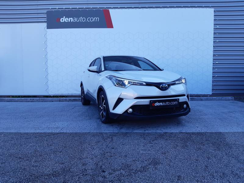 Toyota C-HR HYBRIDE RC18 122h Edition Blanc occasion à Brive-la-Gaillarde