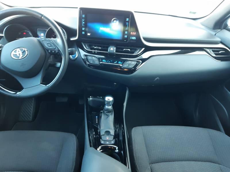 Toyota C-HR HYBRIDE RC18 122h Edition Noir occasion à Brive-la-Gaillarde - photo n°6