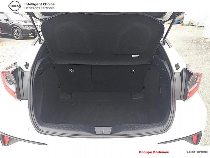 Toyota C-HR HYBRIDE RC18 122h Graphic Blanc occasion à SAINT-BRIEUC - photo n°14