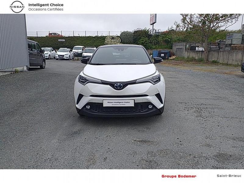 Toyota C-HR HYBRIDE RC18 122h Graphic Blanc occasion à SAINT-BRIEUC - photo n°5