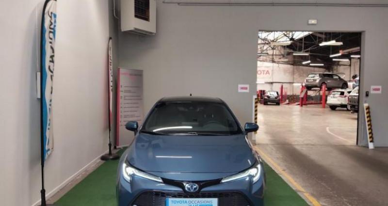 Toyota Corolla 122h Design MY20 Bleu occasion à Maubeuge