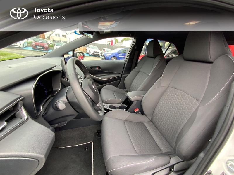 Toyota Corolla 122h Design MY20 Blanc occasion à Pluneret - photo n°11