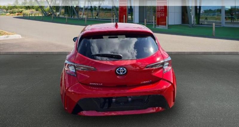 Toyota Corolla 122h Design MY21 Rouge occasion à Hoenheim - photo n°4