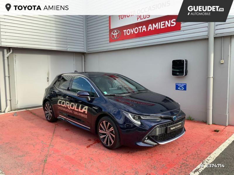 Toyota Corolla 122h Design MY21 Bleu occasion à Rivery
