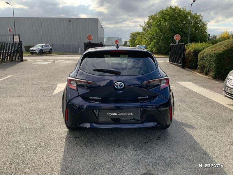 Toyota Corolla 122h Design MY21 Bleu occasion à Rivery - photo n°3