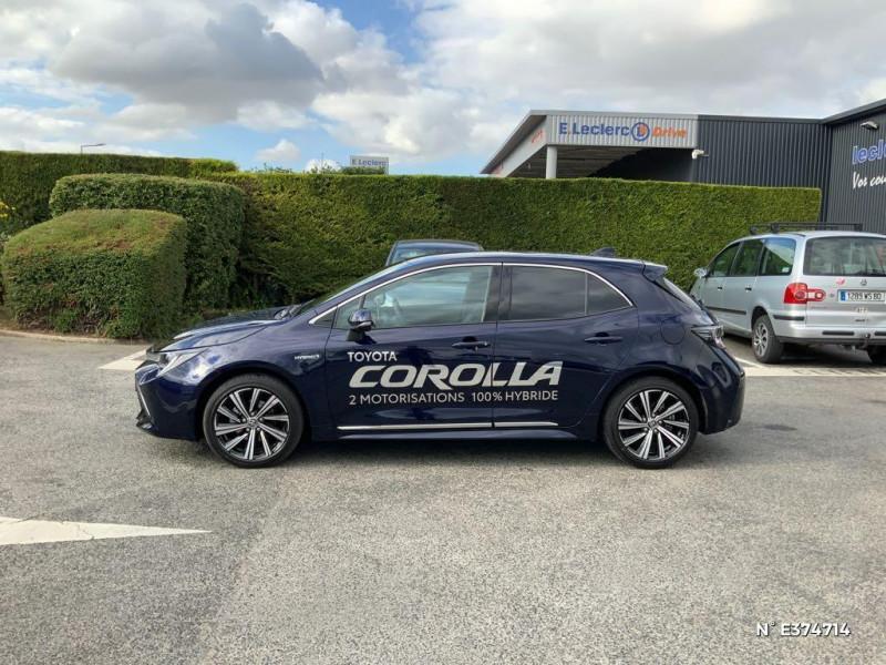 Toyota Corolla 122h Design MY21 Bleu occasion à Rivery - photo n°7