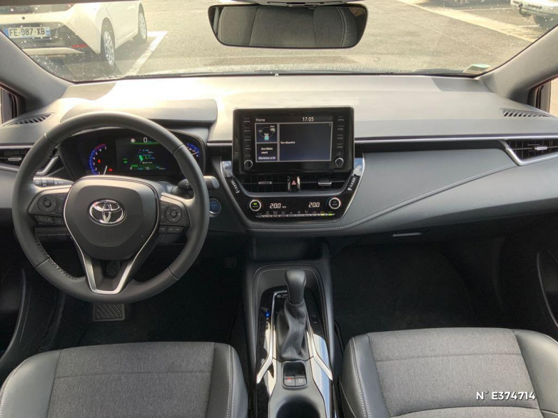 Toyota Corolla 122h Design MY21 Bleu occasion à Rivery - photo n°10