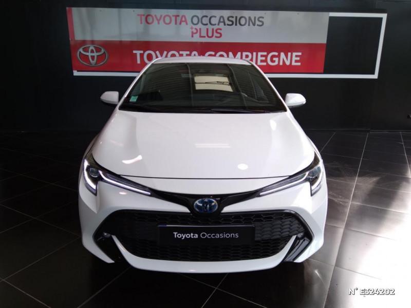 Toyota Corolla 122h Design MY21 Blanc occasion à Jaux - photo n°2