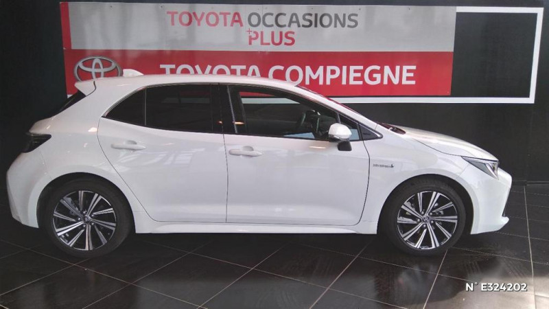 Toyota Corolla 122h Design MY21 Blanc occasion à Jaux - photo n°7