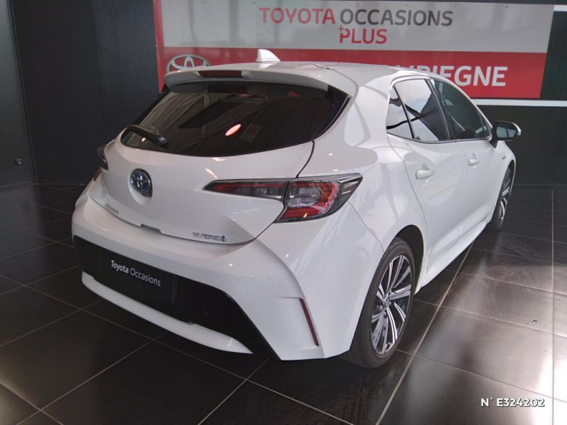 Toyota Corolla 122h Design MY21 Blanc occasion à Jaux - photo n°6