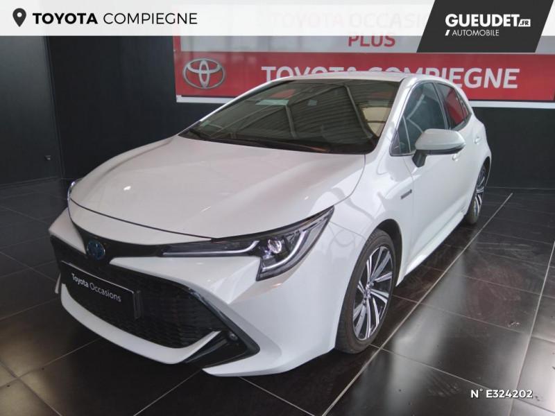 Toyota Corolla 122h Design MY21 Blanc occasion à Jaux
