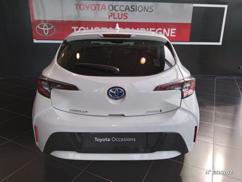Toyota Corolla 122h Design MY21 Blanc occasion à Jaux - photo n°3