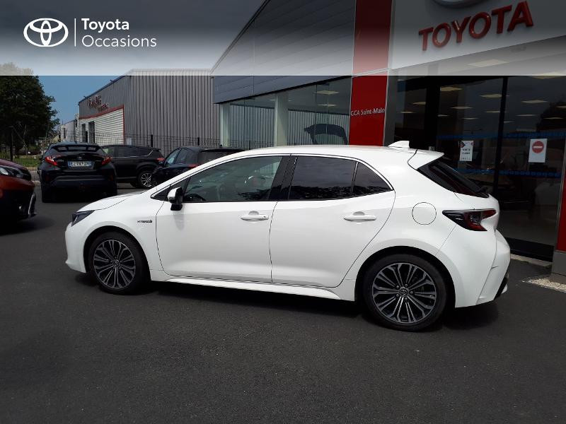 Toyota Corolla 122h Design Blanc occasion à Saint-Jouan-des-Guérets - photo n°3