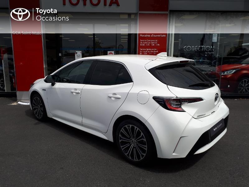Toyota Corolla 122h Design Blanc occasion à Saint-Jouan-des-Guérets - photo n°2