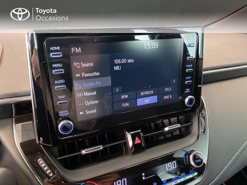 Toyota Corolla 122h Dynamic Gris occasion à LANESTER - photo n°8