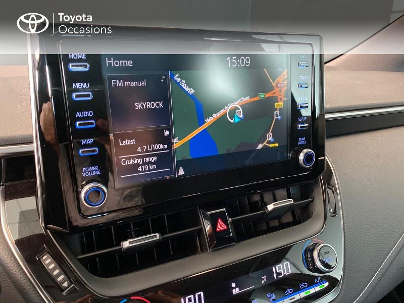Toyota Corolla 122h Dynamic Gris occasion à LANESTER - photo n°7