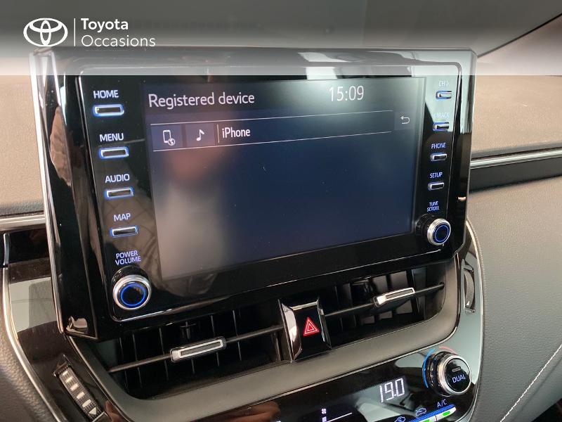 Toyota Corolla 122h Dynamic Gris occasion à LANESTER - photo n°10