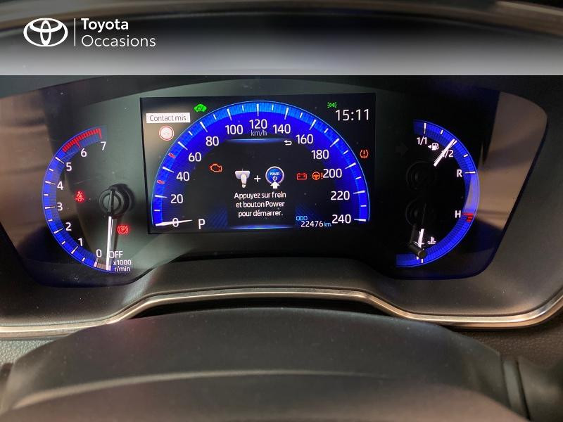 Toyota Corolla 122h Dynamic Gris occasion à LANESTER - photo n°12