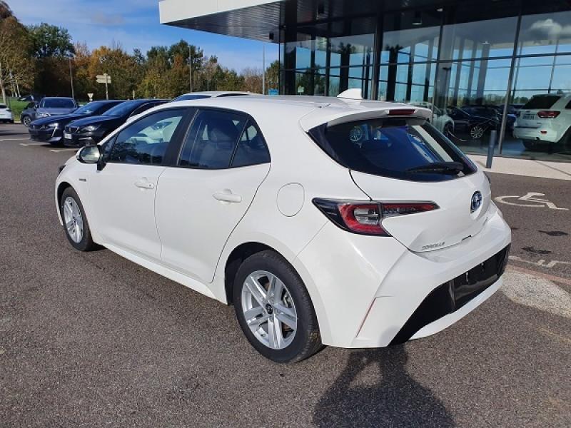 Toyota Corolla 122H DYNAMIC Blanc occasion à Albi - photo n°4