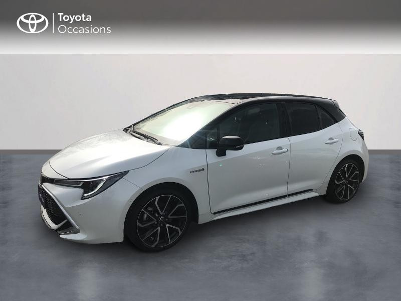 Toyota Corolla 184h Collection Blanc occasion à Albi